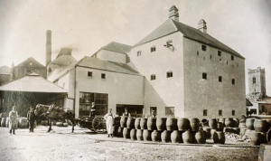 The first brewery in the world